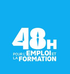 Salons 24h 48h pour l 39 emploi et la formation for Salon pour l emploi